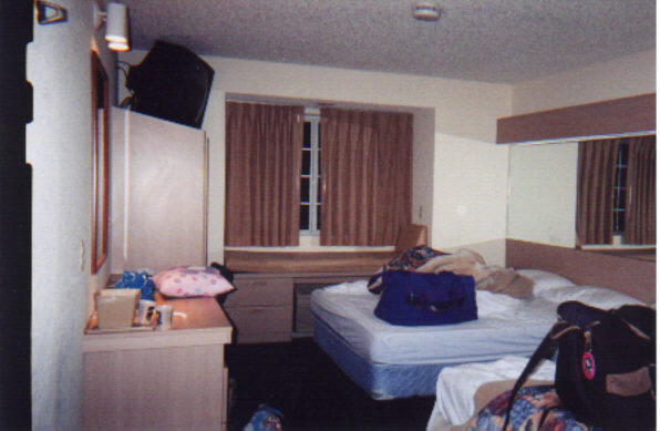 and here is our room